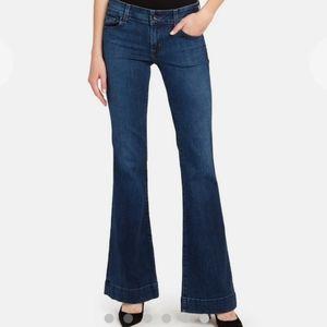 J Brand Love Story Bellbottom Flare Stretch Jeans